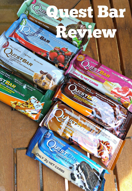 Quest Nutrition bars review